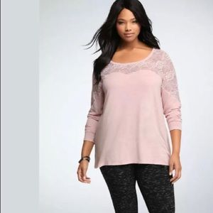 Torrid Lace long sleeve